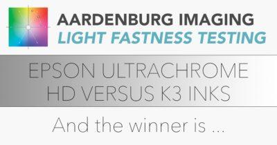 Epson Ultrachrome HD versus K3 inks