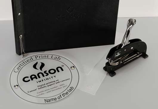CERTIFIED FOR FINE ART PRINTING by Canson